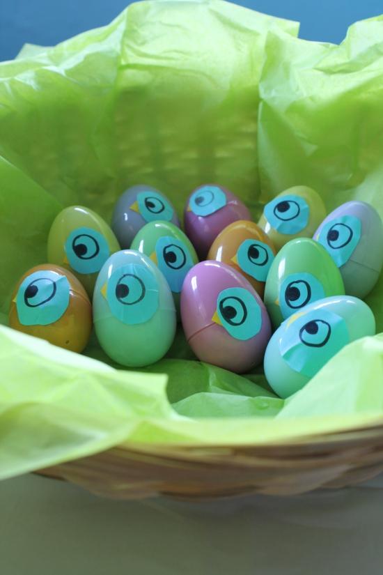 Pigeon eggs!