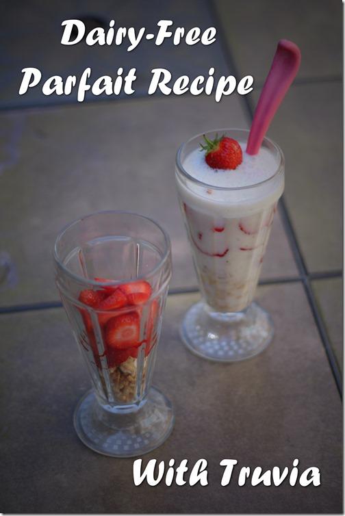 Dairy Free Parfait With Truvia 2
