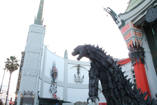 Godzilla in front of TCL Chinese Theater