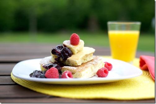 Orange Oatmeal Pancakes Recipe