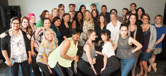Group Photo With Drew Barrymore & Adam Sandler