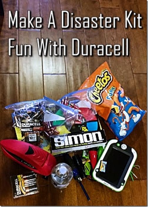 Duracell Disaster Kit
