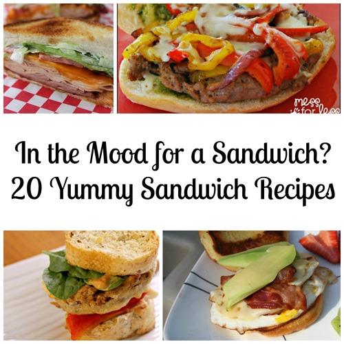 20 sandwich recipes