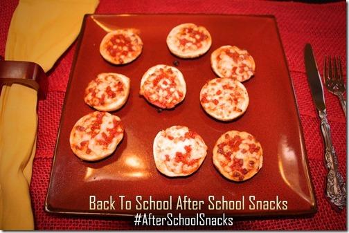Bagel Bites After School Snacks