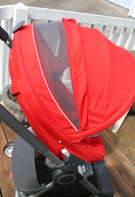 Stroller hood