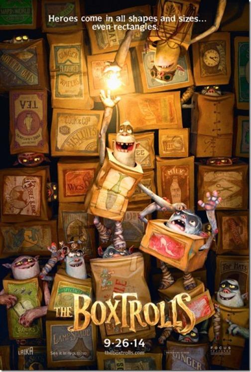 the boxtrolls movie poster