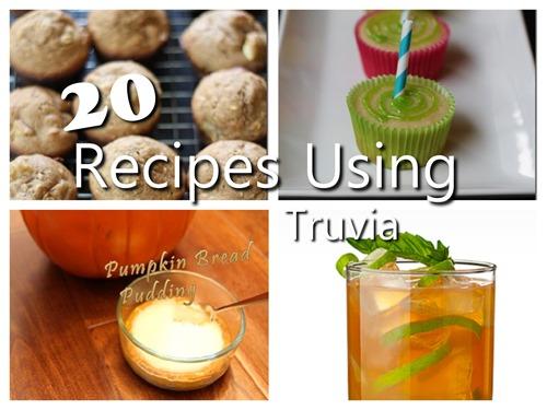 20 recipes using Truvia