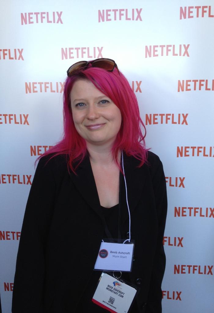 Beeb at Netflix HQ!