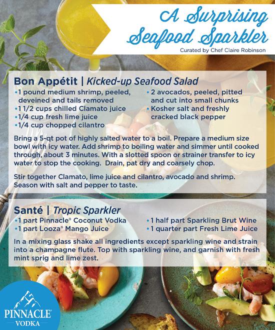 Surprising Seafood Sparkler.