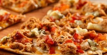 Buffalo Tuna Pizza