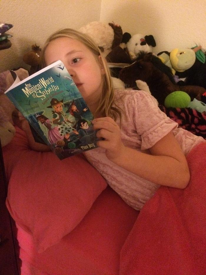 Reading The Magical World of Sebella