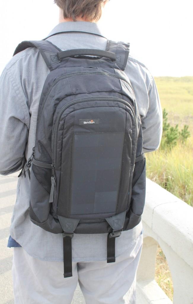 Backpack closeup