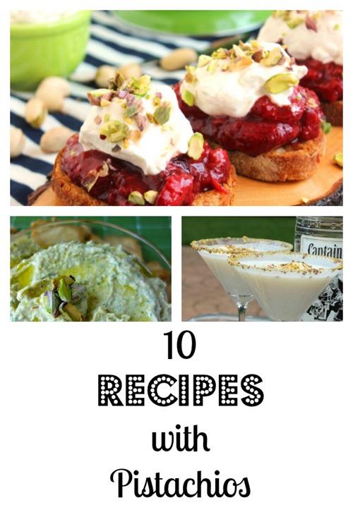 pistachios recipes