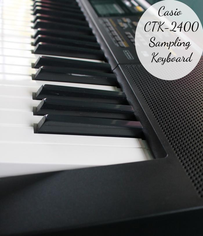 casio ctk 2400 sampling keyboard give the gift of music momstart. Black Bedroom Furniture Sets. Home Design Ideas