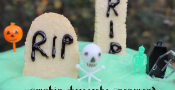 Pumpkin Cheesecake Graveyard
