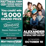 Mattress Firm Terrific, Wonderful, Awesome VERY GOOD NIGHT Sleepstakes Contest $5000 #VeryBadDayEvent