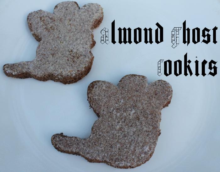 Almond Ghost Cookies