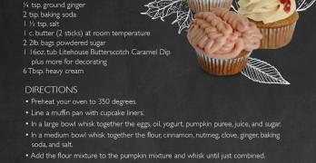 Spiced Pumpkin Cupcakes
