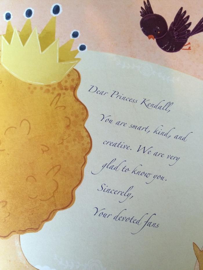 Princess letter