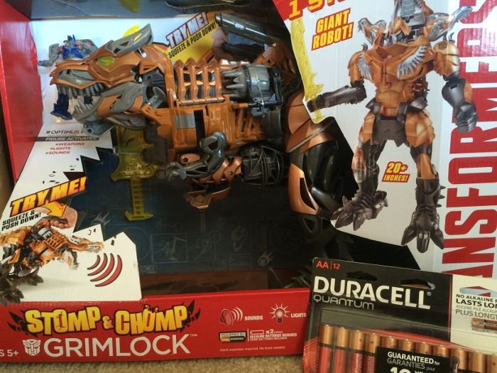 Stomp & Chomp Grimlock Transformer