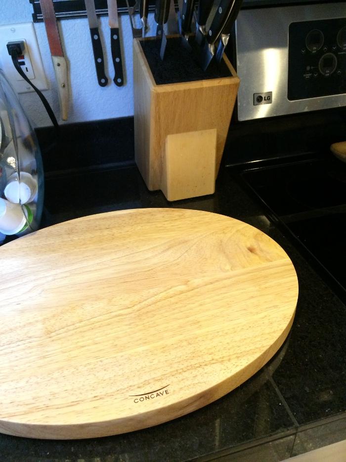 Concave Cutting Board