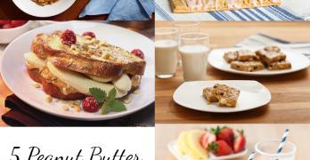 5 Peanut Butter Breakfast Recipes