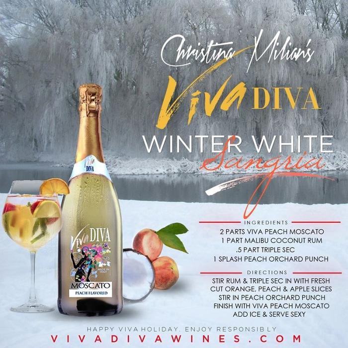 Winter White Sangria