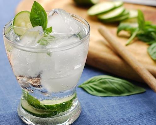 Coconut Cucumber Gin Fizz Recipe — MomStart