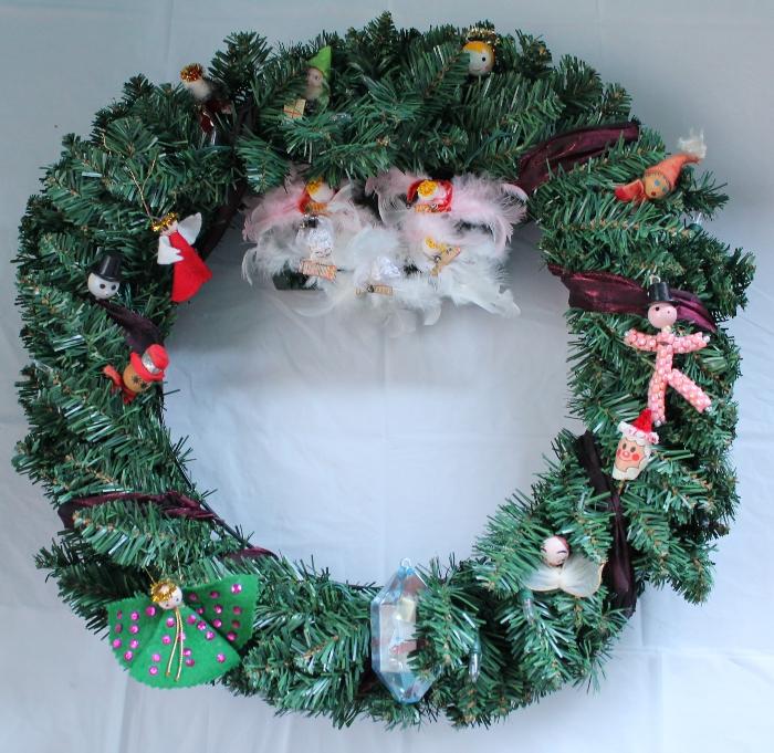 Vintage wreath