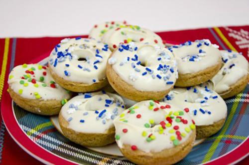 Gingerbread Kefir Donuts