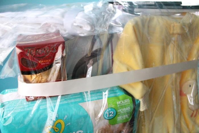 Gift basket closeup