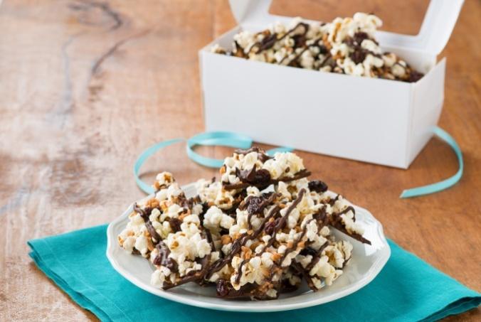 Sweet & Salty Popcorn Bark
