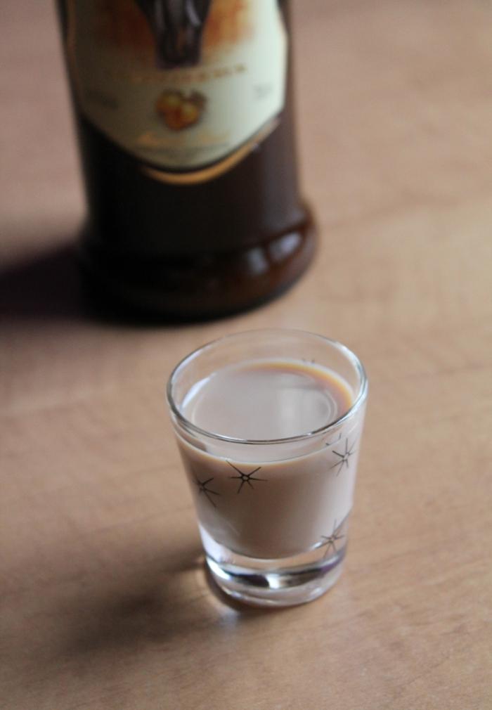 A shot of Amarula Cream Liqueur