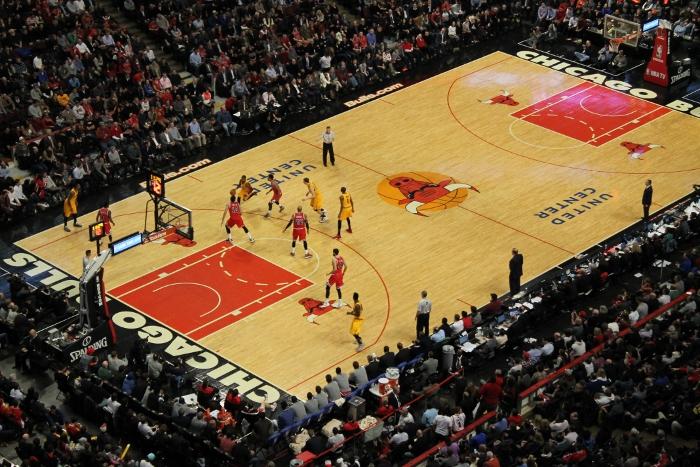 Bulls play the Cavaliers