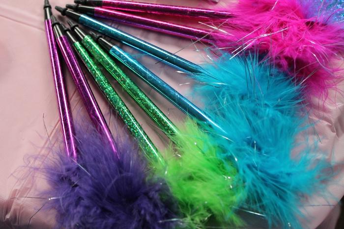 Fuzzy pens