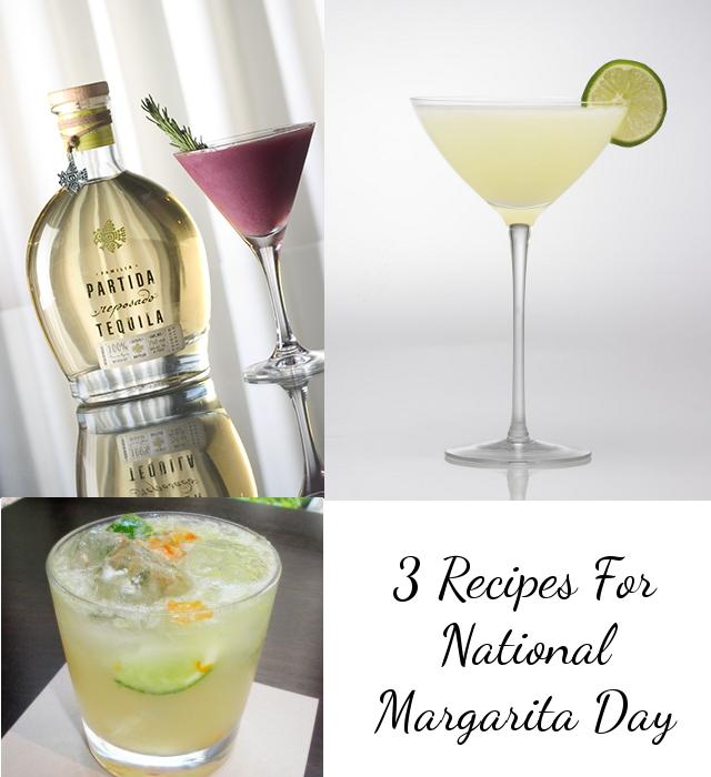 3 Recipes National Margarita Day