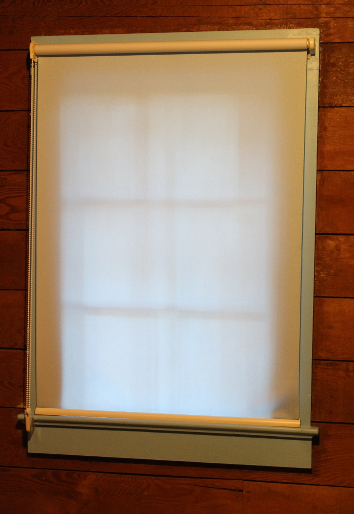 Waverly Signature Solid Light Filtering Fabric Roller Shade