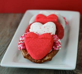 Valentine's PEEPS® Pretzels