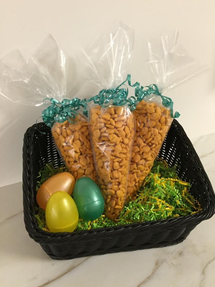 Goldfish Cracker Carrot Bags