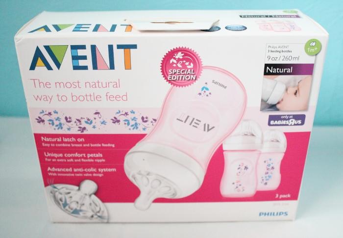 Philips AVENT Natural Bottles (Flower Design)
