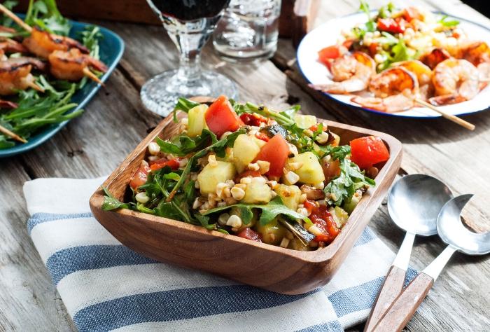 Fire Roasted Grilled Vegetable Salad