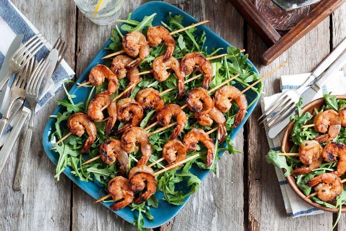 Grilled Asian BBQ Shrimp