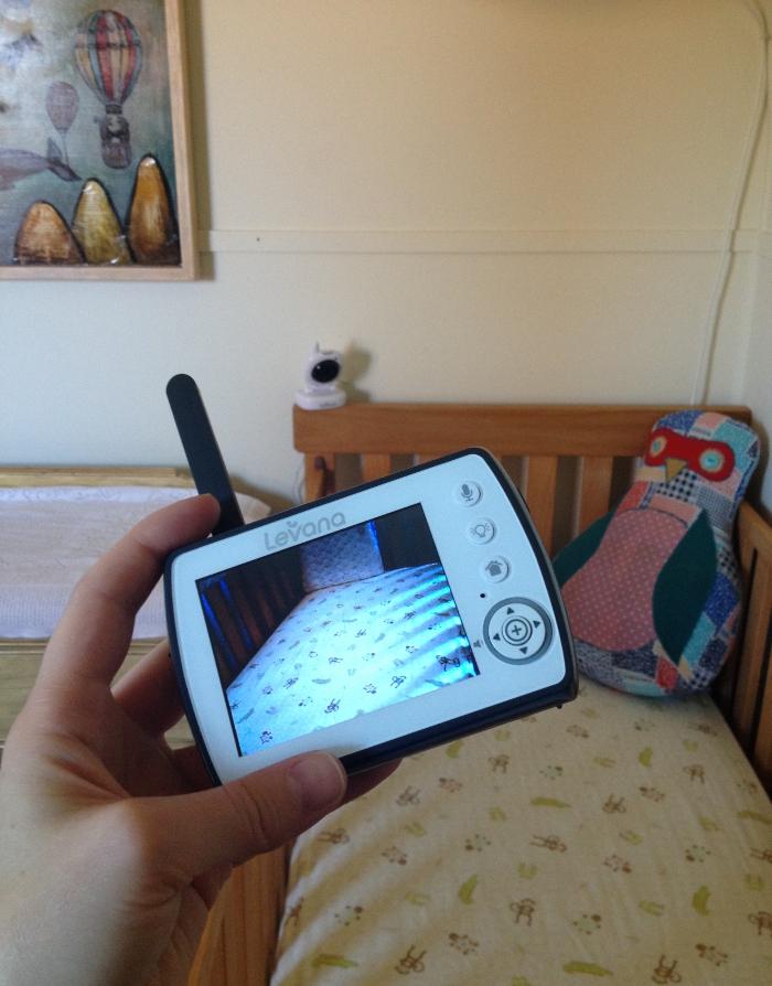 The Levana Ayden Baby Video Monitor