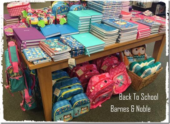 Back to school barnes & noble
