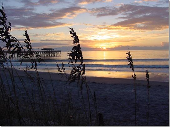 Myrtle Beach State Park Pier Sunrise
