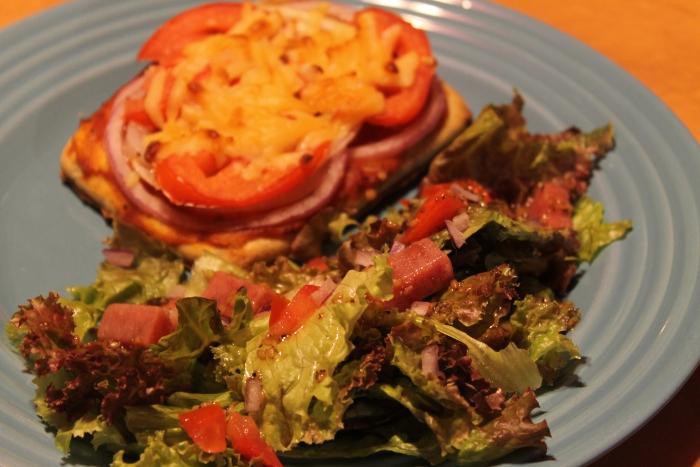 SPAM Snack Salad