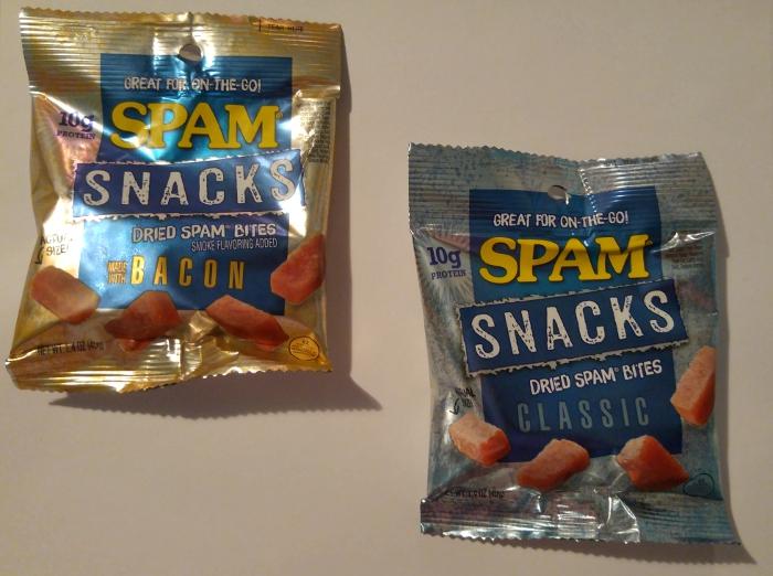 SPAM Snacks