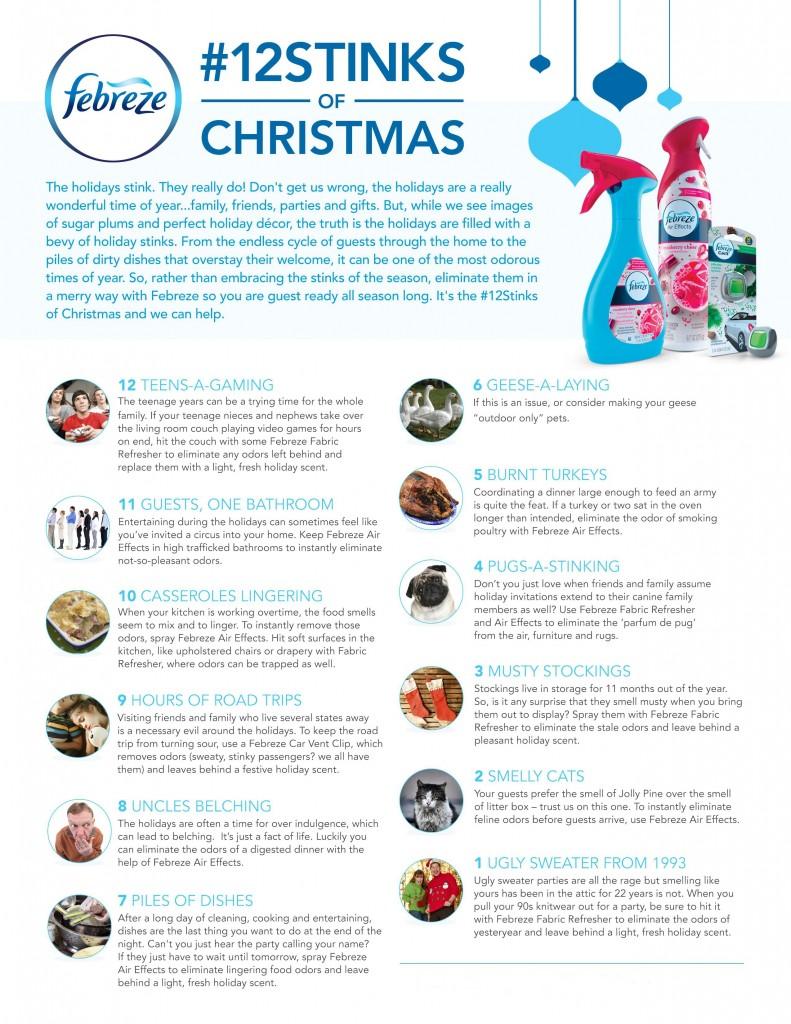12 Stinks of Christmas