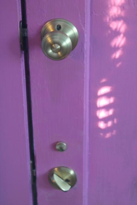 Back door - after