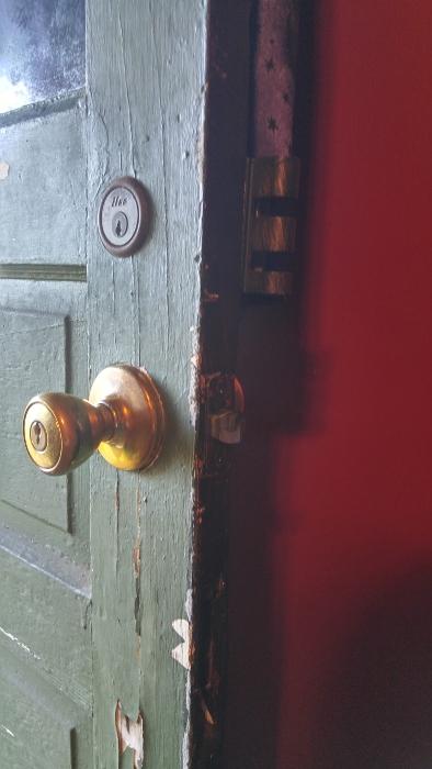Front door - before